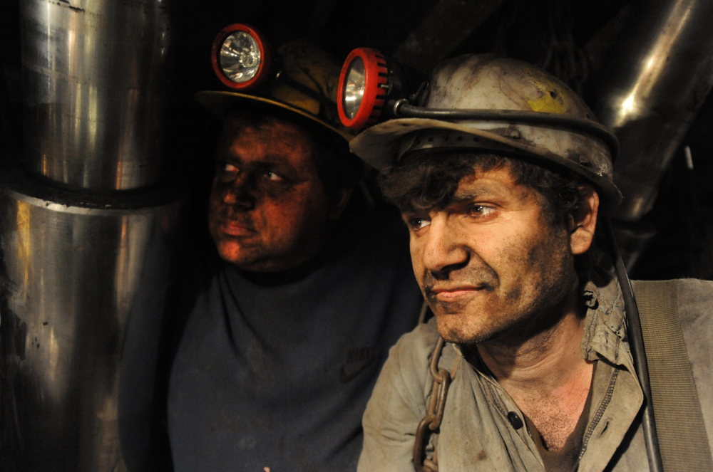 bányászok akik
